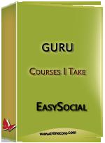 Guru - Courses I take