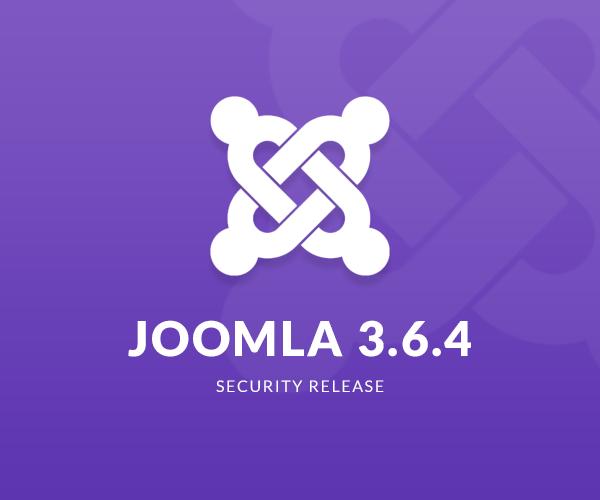 joomla 3.6.4