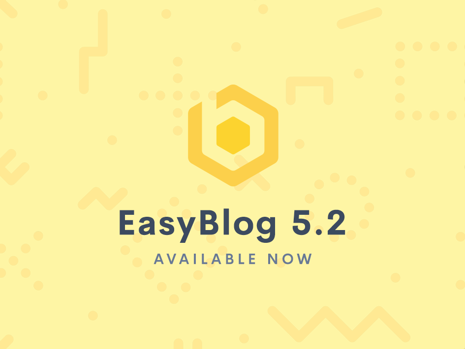 EasyBlog 5.2 Stable Released