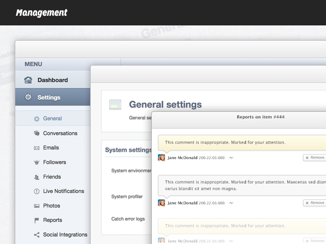 EasySocial - Management