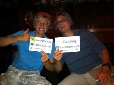Winners at Joomla! User Group Montreal