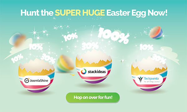 Joomla Easter Egg Hunt